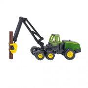 Siku 1652 - John Deere tractor/cosechadora (colores surtidos)