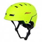 AIDY Thickened Breathable EPS Safety Helmet for Outdoor Cycling / Board-Skating - Light Green
