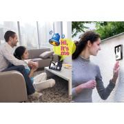 Interphone audio et video sans fil avec 2 recepteurs