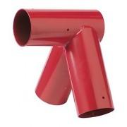 Giunto per Altalena 100° 100x100mm Rosso
