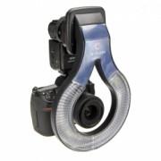 O-Flash F160 - Ringflash pt Nikon D70 / D300 / D200 (SB800); D1 / D2 / D3 / D700 (SB600); Canon EOS 300D / 350D / 400D / 450D / 500D / 1000D (580EX / EX II)