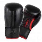 Adidas Energy 300 (Kick)Bokshandschoenen Zwart-Rood - 12 oz