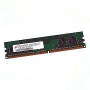 1Go RAM MICRON MT16HTF12864AY-667E1 240-Pin DIMM DDR2 PC2-5300U 667Mhz 1Rx8 CL5