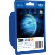 Brother LC-1280XL C/M/Y Rainbow Bonus Pack Ink Cartridge for MFC-J6510/J6910 - LC1280XLRBWBP