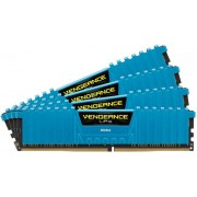 Memorii Corsair Vengeance LPX Blue DDR4, 4x4GB, 2133 MHz, CL 13