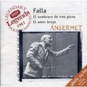 M De Falla - El Sombrero De Tres Picos (0028946699126) (1 CD)