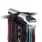 oneConcept Savile Row, elektromos nyakkendőtartó, forgó, LED lámpa, 72 akasztó (LTG2-Savile-Row)