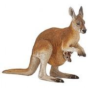 Papo Kangaroo with Baby Figure