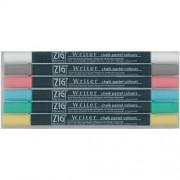 Zig Memory System Writer gesso pastello Dual-punta marcatori 6/Pkg-