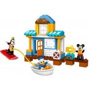 LEGO DUPLO Casa de pe plaja a lui Mickey si prietenii (10827)
