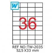 Etichete A4 , 52,5 x 33mm , Set 100 buc