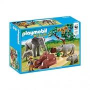 Playmobil wild 5275 life animaux de la savane avec photographe