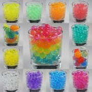 11 Bags Jelly Bead Z 5 Gram Packs. One Of Each Color. Makes Over A Gallon Of Fun
