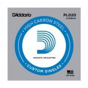 D'Addario - PL020 Plain Einzelsaite