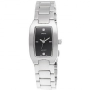 Casio Quartz Black Rectangle Women Watch LTP-1165A-1C2DF(A557)
