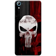 Fashionury Printed Soft Silicone Back Case Cover For Htc Desire 628