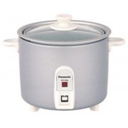 Panasonic SR-3NA Electric Rice Cooker(0.5 L, Silver)