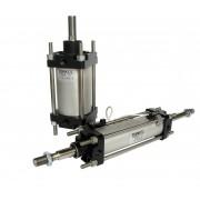 CNOMO a doppio effetto ammortizzato magnetico Alesaggio 125 mm Corsa 100 mm