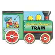 Curious George's Train: Mini Movers Shaped Board Books by H.A. Rey
