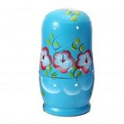 Vente En Gros 5pcs Nouveauté Russe Nesting En Bois Matryoshka Poupée Set Décor Peint À La Main Russian Nesting Dolls Baby Toy Girl Doll