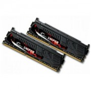 Memorie G.Skill Sniper 16GB (2x8GB) DDR3 PC3-17000 CL10 1.60V 2133MHz Dual Channel Kit, F3-2133C10D-16GSR
