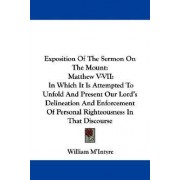 Exposition of the Sermon on the Mount by William M'Intyre