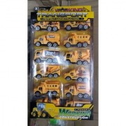 WORKING CONSTRUCTION 12 PCS. TOY