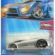 2004 - Mattel - Hot Wheels - 047 - Model #B3567 - First Editions - Hardnoze Cadillac V-16 Concept - Die Cast Metal - New - Collectible