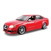 Bburago 15622104 - Bijoux, Modellino Audi RS4, scala 1:24, colori assortiti