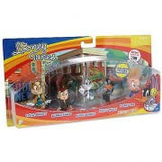 The Bridge Direct Looney Tunes Figure 5 Pack - Bugs Bunny Lola Bunny Daffy Duck Porky Pig and Elmer Fudd by The Bridge Direct