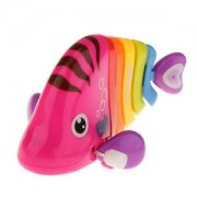 ELECTROPRIME Plastic Mini Funny Swing Fish Wind Up Toy for Kids Play Children Present New