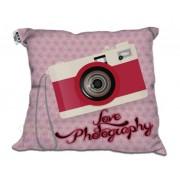 Almofada Decorativa Camera Pink