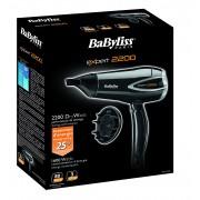Uscator de par Babyliss Dryer D342E, 2200W, 3 viteze, Negru