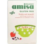 Musli organic cu ovaz si fructe 325gr