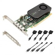 PNY NVIDIA NVS 510 Carte Graphique Professionnelle 2 Go GDDR3 PCI-Express Low Profile 4 x DP/VGA (VCNVS510VGA-PB)