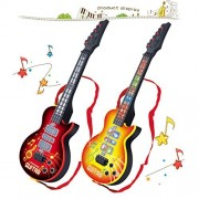 Electric Guitar, FINER 4 Strings Music Electric Guitar Kids Children Baby Musical Instruments Educational Toy...