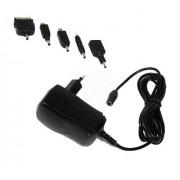 Cablematic - Fuente de alimentación tipo enchufe de 5 VDC a 1000 mA 5 en 1