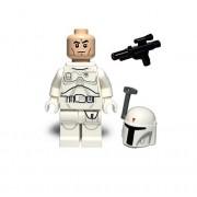 LEGO Star Wars Minifigure - Boba Fett White Proto Prototype (2015)