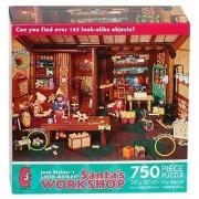 Joan Steiners LOOK-ALIKES Santas WORKSHOP 750 Piece Puzzle MADE IN USA