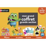 Nathan - 31413 - Grand Coffret - Grande Section - Jeu Educatif et Scientifique