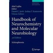 Handbook of Neurochemistry and Molecular Neurobiology 2009 by Daniel C. Javitt