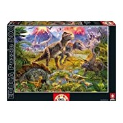 "Educa Borras 15969 ""Dinosaur Gathering"" Puzzle (500-Piece)"