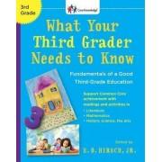 What Your 3rd Grader Needs(Rev by E.D. Jr Hirsch