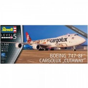 Boeing 7478f cargolux cutaway revell rv4949