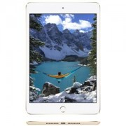 Tablette Internet iPad mini 4 avec écran Retina Wi-Fi 32 Go Or - A8 1.5 GHz 1 Go 32 Go 7.9' LED tactile Wi-Fi ac / Bluetooth Webcam iOS 9