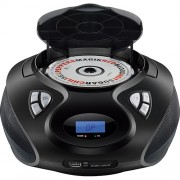 SOM PORTÁTIL MULTILASER CD PLAYER MP3 USB 20w