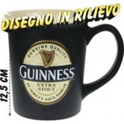 Tazza Maxi Mug GUINNESS con Logo in rilievo Ufficiale Originale