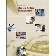 Introduction to Medical Office Transcription Package w/ Audio Transcription CD by Karonne Becklin