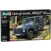 "Revell Modellbausatz 03069 - LKW gl luz ""LOBO"" distancia entre ejes corta escala 1:35"