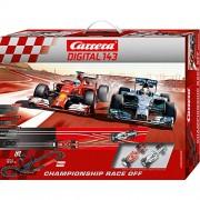 "Carrera Digital 143 - Championship Race Off (Ferrari F14T ""Alonso"" Mercedes F1 W05 ""Hamilton"") 5,6 m, 01:43 (20.040.028)"